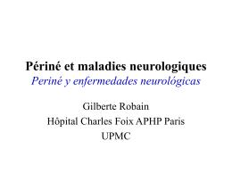 Périné et maladies neurologiques