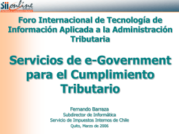 Sii - Copyright Servicio de Rentas Internas del Ecuador