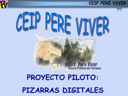 ceip pere viver - Web de Pere Marquès