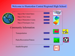 Schools - Hunterdon Central Regional High School