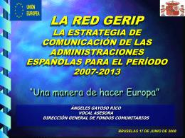 programación 2007-2013