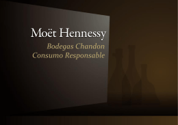 Bodegas Chandon Consumo Responsable