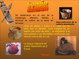Vaso policromo de la cultura atacameña