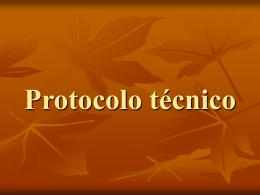 Protocolo técnico