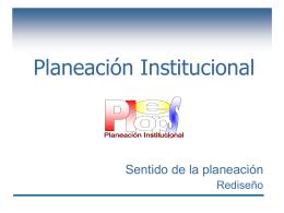 Planeación Institucional - Provincia Marista de México Occidental