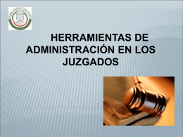 Organización - Poder Judicial del Estado de Tamaulipas