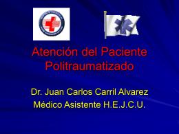 Atención del Paciente Politraumatizado