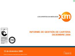 InformeEjecutivodic06 - XM