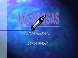 las drogas - I like the idea