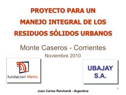 ubajay sa - Mercosur ABC