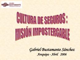 Tendencias - Gabriel Bustamante
