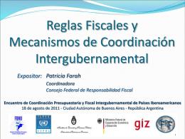 Secretaria Ejecutiva Consejo Federal de Responsabilidad Fiscal de