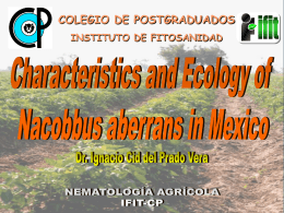 Characteristics and Ecology of Nacobbus aberrans in Mexico