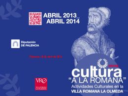 actividades Villa Romana