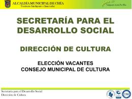Diapositiva 1 - Casa de la Cultura