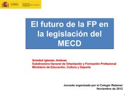 Diapositiva 1 - Formación Profesional Retamar
