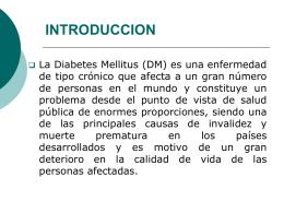 PRESENTACIÓN DIABETES 1.