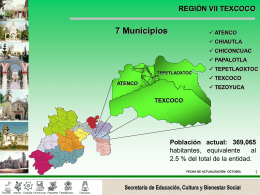 Región 7 - Gobierno del Estado de México