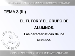 T3 _Parte3_El tutor y los alumnos