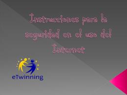 Instrucciones para la seguridad en Internet