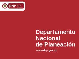 Tasa de desempleo (TD) - Departamento Nacional de Planeación