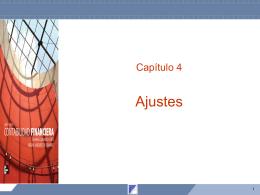 Capítulo 4 Ajustes