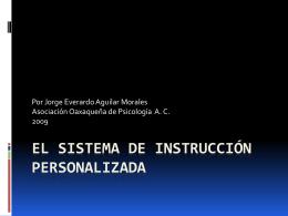 La instrucción personalizada