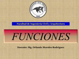 FUNCIONES II