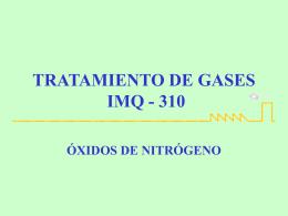Qué son los óxidos de nitrógeno?