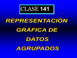 Clase 141: Representación Gráfica de Datos