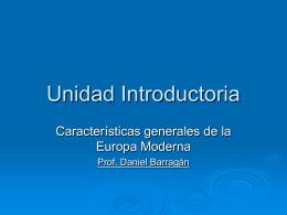 Presentación Unidad Introductoria