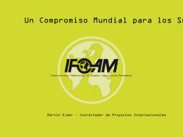 11.Un Compromiso Mundial para los SGP, IFOAM