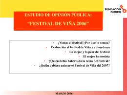 Festival de Viña 2006