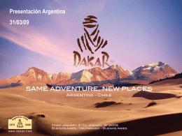 El Dakar y los medios