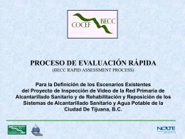 proceso de evaluación rápida