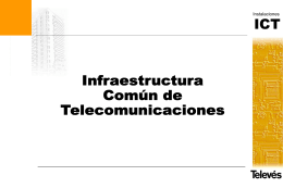 Norma Técnica ICT Para RTV