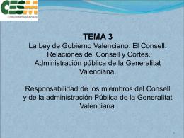 """Consell"""". - Sindicato Médico de la Comunidad Valenciana CESM-CV."""