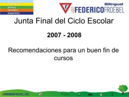 Diapositiva 1 - Colegio Federico Froebel