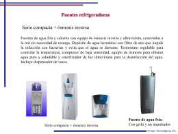 Fuentes refrigeradoras