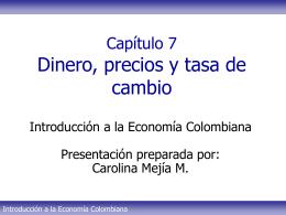 Tema 7 - Pol. monetaria CMM