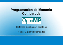 pragma omp parallel