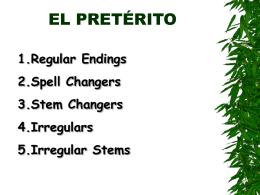 EL PRETÉRITO - Senor Rudis 6.0