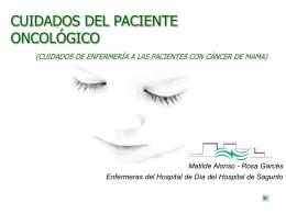 Cuidados del paciente oncológico
