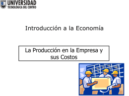 (Semana 9)produccion y costos