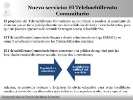 Presentación TBC Comunitario