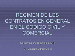 Descargar: Régimen de los Contratos en General
