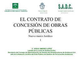 el contrato de concesión de obras públicas