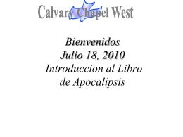 POR SIEMPRE - Calvary Chapel West