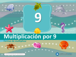 Multiplicación por 9