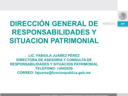 Artículo 8 LFRASP - Secretaría de la Función Pública